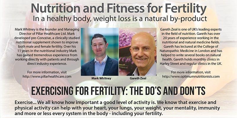 Exercising for fertility