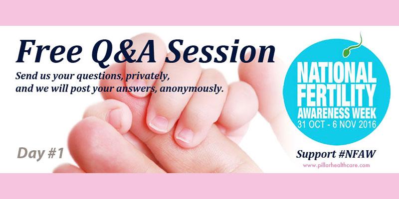 National Fertility Awareness Week Day 1