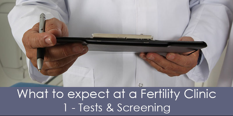 fertility clinic tests